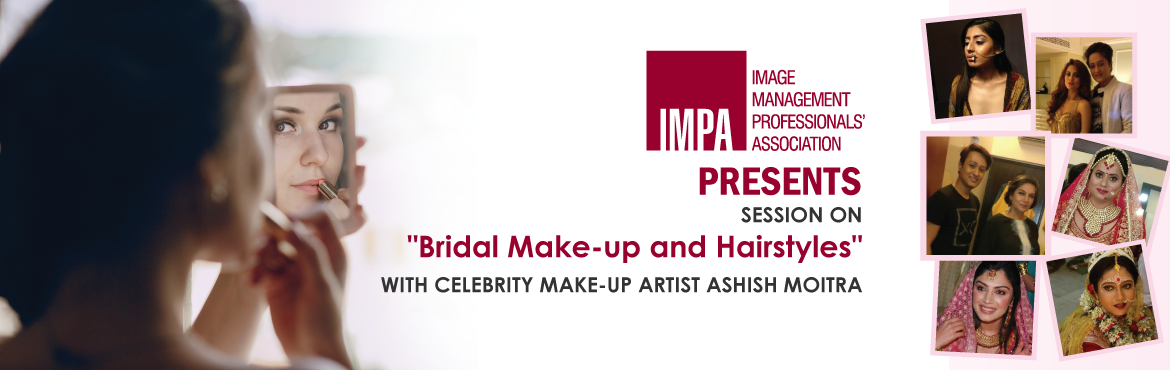 Book Online Tickets for A Holistic Bridal Special - Batch 2, Mumbai. Makeup is a passion...Not work for Ashish.The face is his canvas and he is the artist molding the blank canvas intosomething beautiful and ethereal. Ashish Moitrais a celebrity make-up artist with many high profile assignments to his credit.&nb