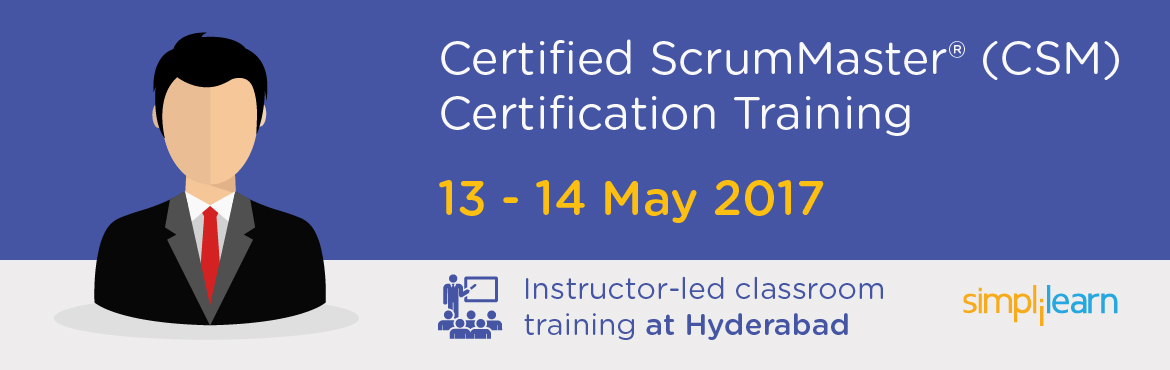 CSM Certification Training in Hyderabad | Classroom Training Program