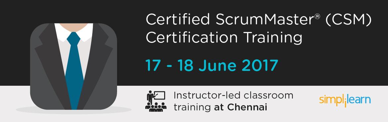 CSM Certification Training in Chennai| Classroom Training Program