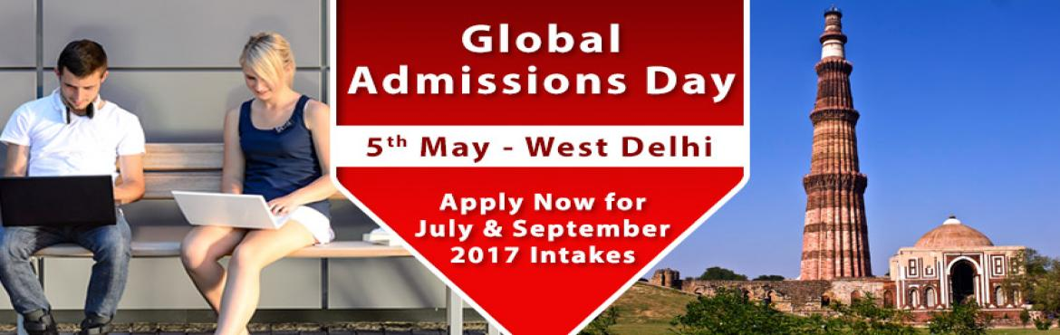 Book Online Tickets for Global Admissions Day West Delhi - UK, S, NewDelhi. Free Counseling Guidance & Shortlisting | IELTS & Test Preparation | Visa Guidelines       The Chopras are delighted to announce the "|1170|370|?|5270f3a9fdd75b10e64c8ef6a3a647ac|False|UNLIKELY|0.39632686972618103