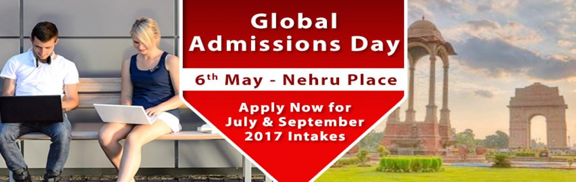 Book Online Tickets for Global Admissions Day Delhi - UK, Singap, NewDelhi. Free Counseling Guidance & Shortlisting | IELTS & Test Preparation | Visa Guidelines   The Chopras are delighted to announce the "|1170|370|?|2ded7d0e0f917d40a3f5f8180f38dc36|UNLIKELY|0.39566847681999207