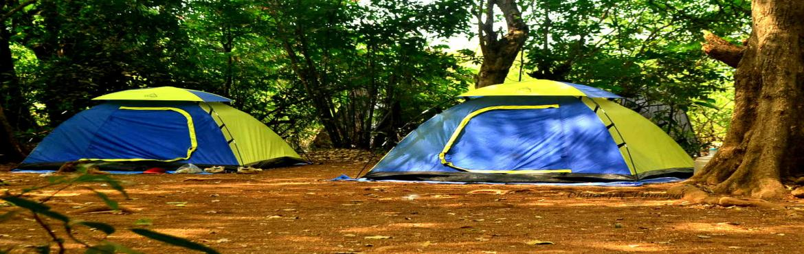 Camping Rajmachi Village near Lonavala on 13th 14th May 2017