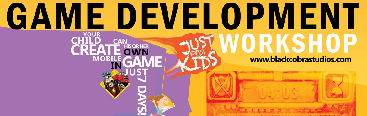 Book Online Tickets for Game Development Workshop for Kids Make , Mumbai. Did you know thatANYONEcan create their own games and publish them LIVE?  India is witnessing a mobile revolution with the explosion of new devices and gaming is the next driver of change with a huge number of gaming companies