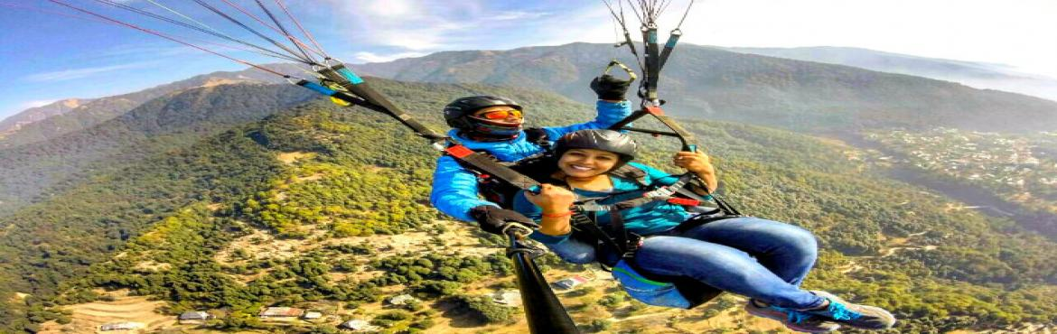 Book Online Tickets for Go Paragliding,Camping and Trekking - Bi, Delhi. About  Weekends should be used wisely, and challenging the adrenaline junkie within, seems the right way to do so. Soaring high in the sky and taking a bird's eye view of the world is something that is definitely there in everyone's bucke