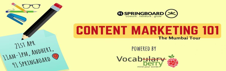Content Marketing 101