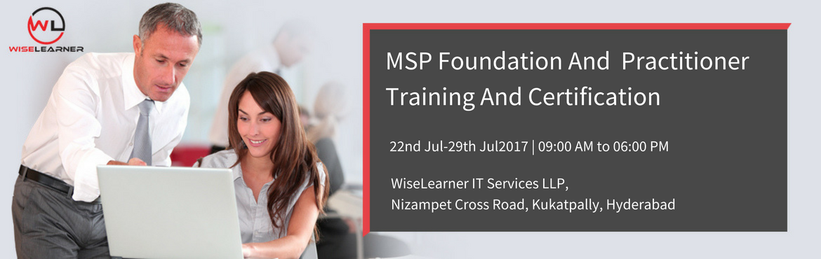 Book Online Tickets for MSP Foundation And Practitioner Training, Hyderabad. OVERVIEW: MSP® Foundation Managing Successful Programmes Foundation is part of the Best Management Practice portfolio and a prerequisite for the Managing Successful Programmes® Practitioner.  MSP® Practitioner Managing Succ