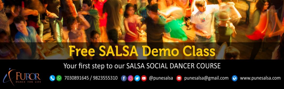 Book Online Tickets for Free SALSA Demo by Furor Pune - Kalyani , Pune. Furor Pune, presents a Free Demo Salsa Class Date: 29th April 2017Time: 6pmpm to 7pm, Reporting Time: 5:45pmVenue: Artsphere Pune, 402, Fourth Floor, North Court Building, North Avenue Road Number 12, Near Jogger\'s Park, Above Cafe Colombia, Ka