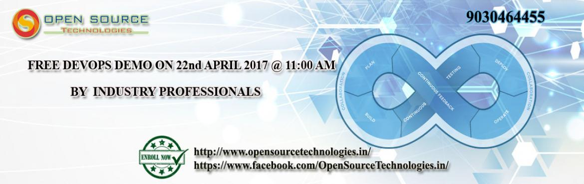 Free DevOps Demo at Open Source Technologies in Hyderabad on 22nd Saturday at 11.AM