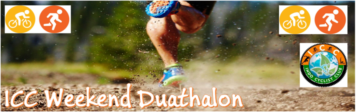 Book Online Tickets for ICCW Duathalon ( Cycling + Running + Cyc, Pune. Hello Friends,Are you looking for cycling + Running  here is the opportunity brought to you by ICC ( INDO CYCLIST CLUB ) internation community of 1000+ sports entusiasts.Event includes cycling( 13km ) running( 5/10 kms ) & cycling ( 13 km )S