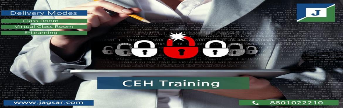 Book Online Tickets for CEH V9 Training Certification At Jagsar , Hyderabad. Certification Ethical Hacker Training is designed for IT professionals with minimum two years of experience in network security. You need to have in-depth knowledge in computer networks. Also, the tricks and tactics that are taught in this course mus