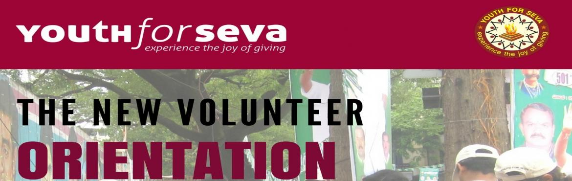 NEW VOLUNTEER INDUCTION - YOUTH FOR SEVA