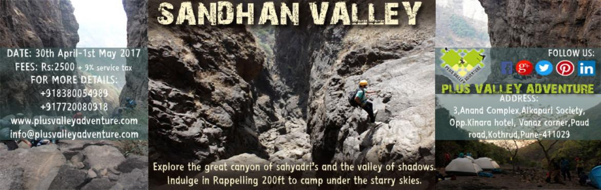 Book Online Tickets for Sandhan Valley Trek, Pune. Overview:-Experience the true essence of adventure with a Sandhan valley trekking and camping experience in Igatpuri with your friends and family! Sandhan Valley Trek is a unique experience combining adventure activities such as rappelling, trekking