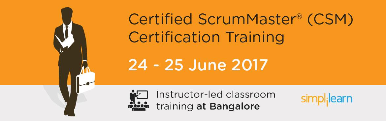 CSM Certification Training in Bangalore| Classroom Training Program