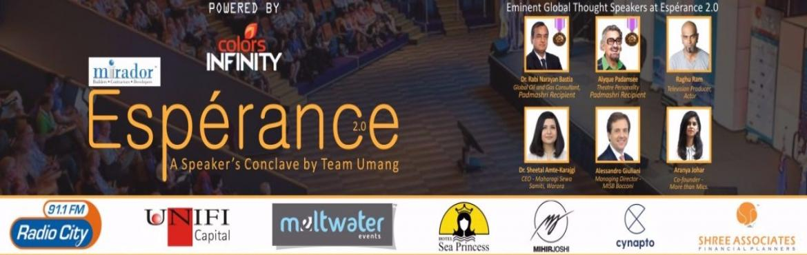 Esperance 2  A Speakers conclave by Team Umang