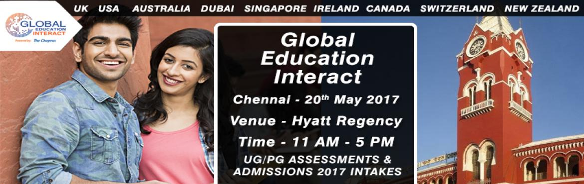 Global Education Fair 2017 in Chennai - Entry Free