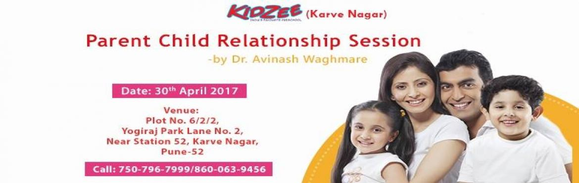 Book Online Tickets for Parent and Child Relationship Session, Pune.  A child\'s brain develops rapidly during the first five years of life, especially the first three years. It is a time of rapid cognitive, linguistic, social, emotional and motor development.  The relationship between a parent and a child is amo