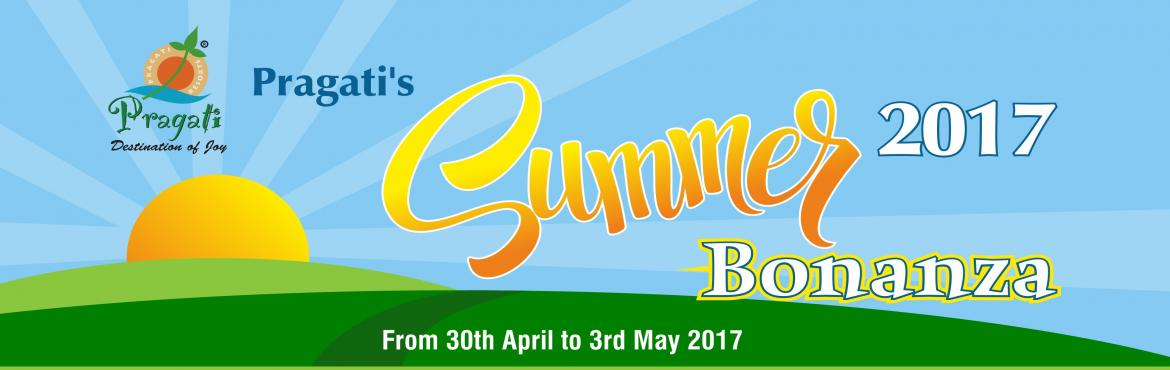 Pragati Resorts Summer Package Bonanza 2017