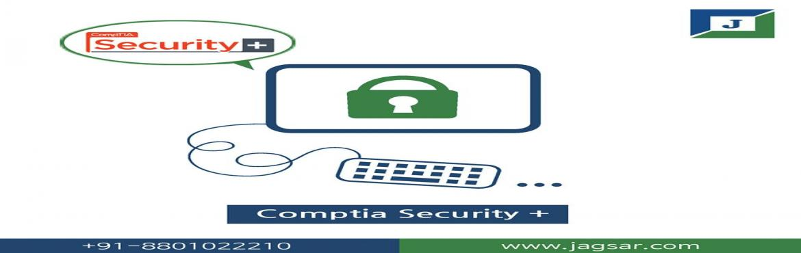 Book Online Tickets for CompTIA Security + Training Certificatio, Hyderabad. What is CompTIA Security +   CompTIA Security+ is a notable certification accepted globally and also trusted for validation of foundational, vendor-neutral IT security knowledge and skills. The certificate acts as benchmark for IT security pract