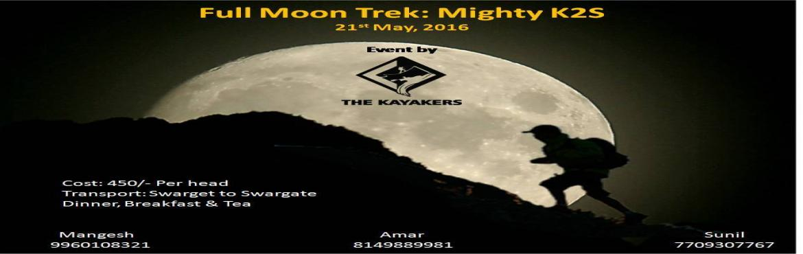 MoonLight Trek: Mighty K2S (Katraj to Sinhgad)