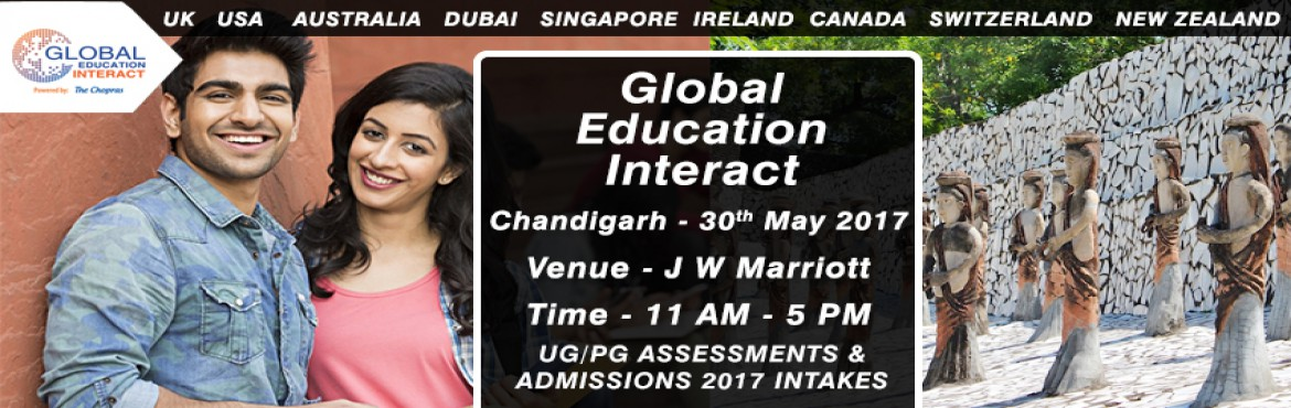 Book Online Tickets for Global Education Fair 2017 in Chandigarh, Chandigarh.   The Wait is over as the biggest Global education fair of 2017 arrives in \