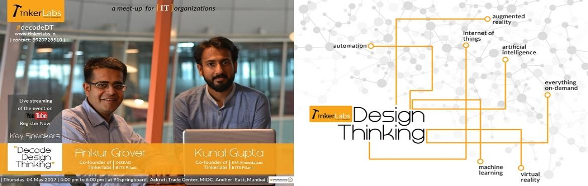 Decode Design Thinking - Webinar