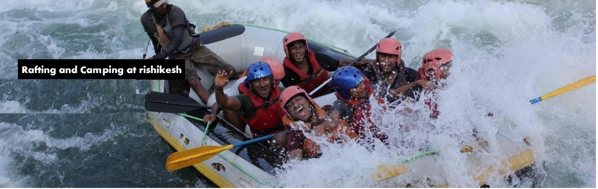 Rafting and Camping at rishikesh