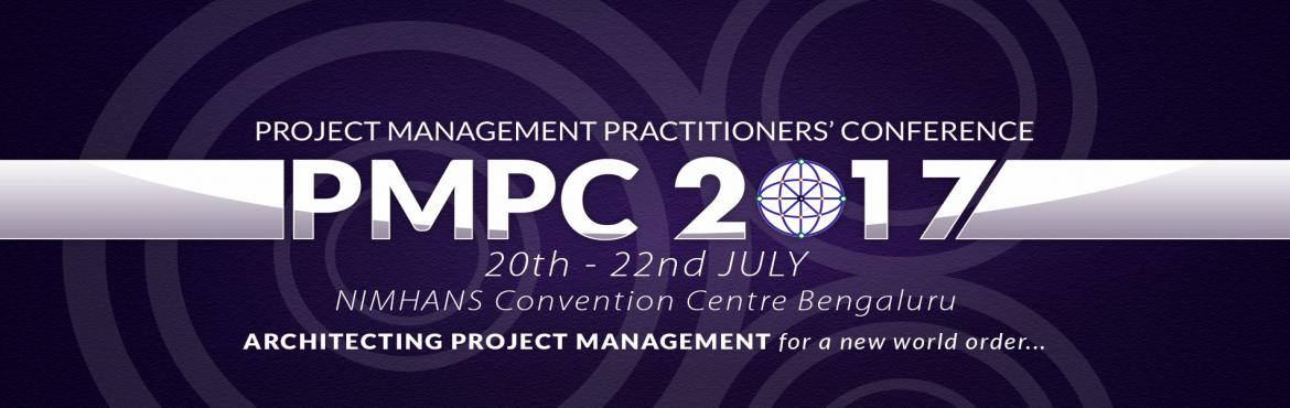 Book Online Tickets for PROJECT MANAGEMENT PRACTITIONERS CONFERE, Bengaluru. PMI Bangalore India Chapter welcomes you to join the 12th Annual Project Management Conference of the Chapter. Be part of the largest Project Management Conference in the region that offers the following features, delivered with professionalism and p