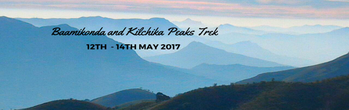 Book Online Tickets for Baamikonda and Kilchika Peaks Trek, Bengaluru. Bavikonda Kilchikia is one of the most untouched and stunning trails that Bangaloreans can enjoy over the weekend. This trek begins at the foothills of the Mullodi village which is surrounded by soothing waterfalls within a 15 km radius. The most uni