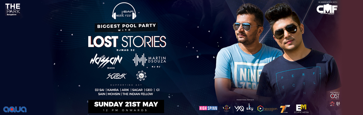 POOL PARTY  WITH  LOST STORIES