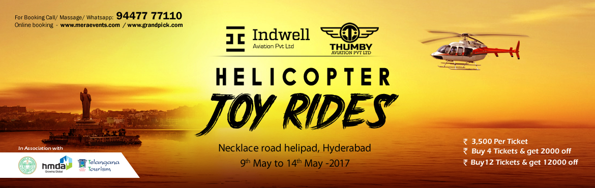 Helicopter Joy Rides 2017 - Hyderabad
