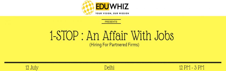 1-Stop : An Affair With Jobs