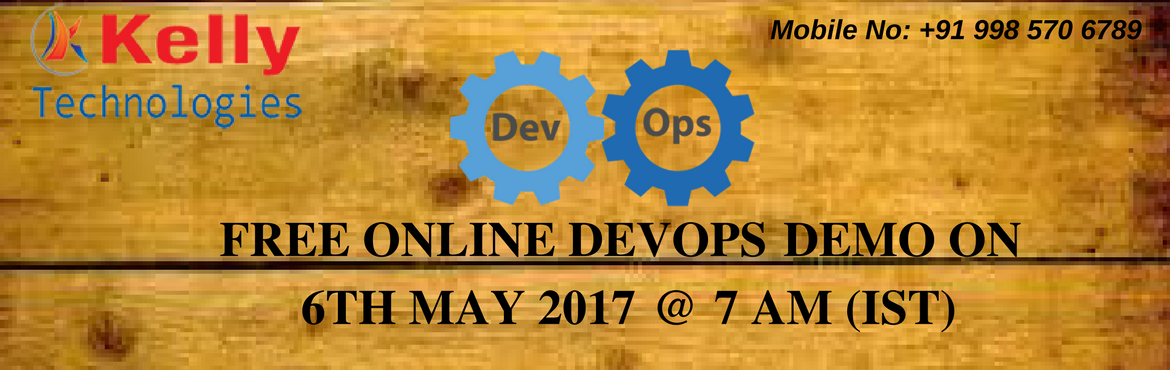 Join Free Online DevOps Demo with Industry Expertise at Kelly Technologies