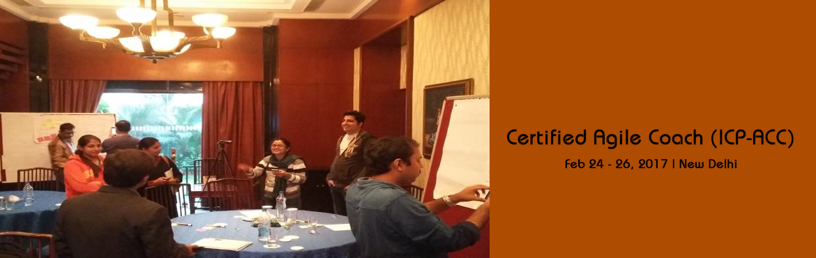 Book Online Tickets for Certified Agile Coach (ICP-ACC) in Delhi, NewDelhi. Do you understand the nuances of an agile coaching? What makes a high performing team and how an Agile coach a shape the future of a project. Do you understand how to hold an effective conversation with your team in a non-threatening environment whic