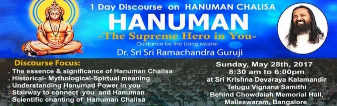 Book Online Tickets for  Hanuman Chalisa  Spiritual Event , Bengaluru.  Redefine Your Body and Mind - Scientific Chanting of Hanuman Chalisa It increases blood flow Greater Orderliness of Brain Functioning Improved performance in athletic events Relaxes our nervous system   For more Details: Login to:www.namoa