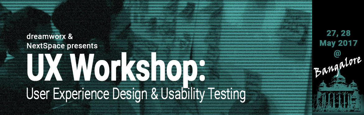 User Experience Design and Usability Testing - Two day paid workshop