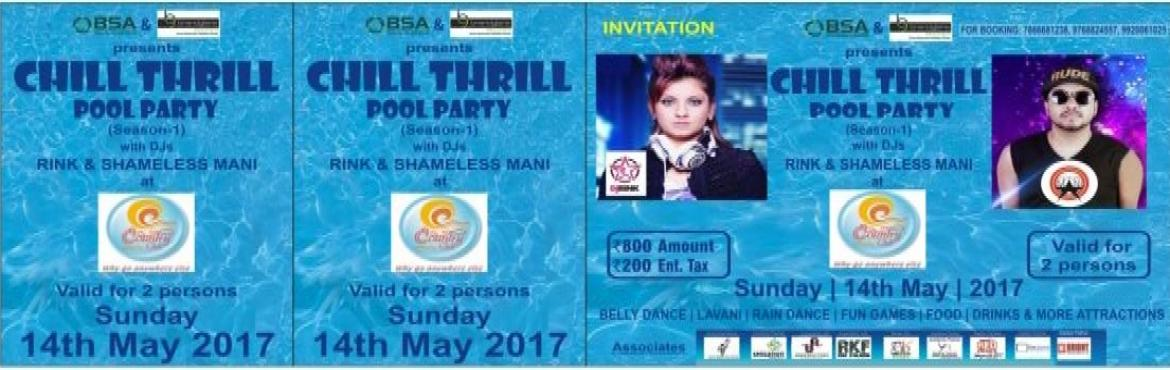 OBSA PRESENTS CHILL THRILL POOL PARTY
