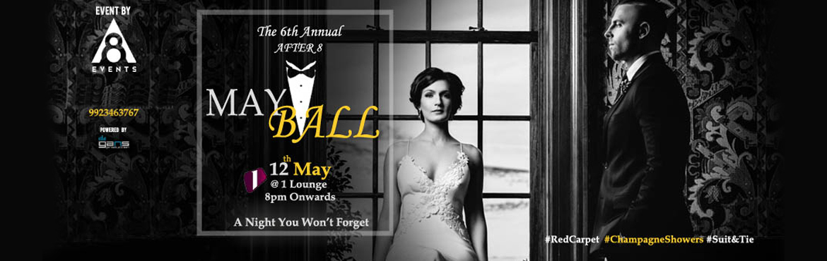 The 6th Annual After 8 May Ball - Pune