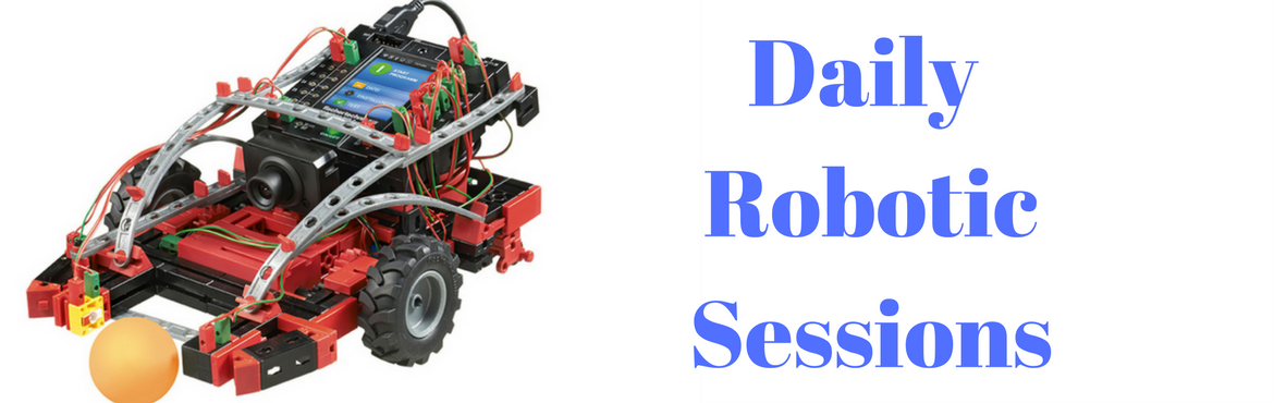 Book Online Tickets for Daily Robotics Sessions, Mumbai. Daily Robotics build activity centred around Mechanical, Electronics, Programming and Logic with some elements of Artificial Intelligence build in machines. Learn to build robots that move and do simple tasks like line following, obstacle avoidance a