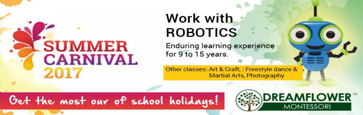 Summer Carnival 2017- Work with Robotics