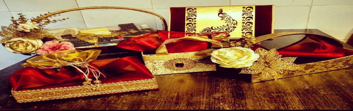Book Online Tickets for The Decor Arts - Gift Wrapping and Trous, Bengaluru. \'\' Gift wrapping and Trousseau packing\'\' WorkshopWorkshop content:a. Flower arrangementsb. Wrapping and packing gift with bow, ribbon arrangementsc. Theam Envelopesd. Handmade gift-bag Potaliese. Fancy gifts packingf. Basket and hamper deco