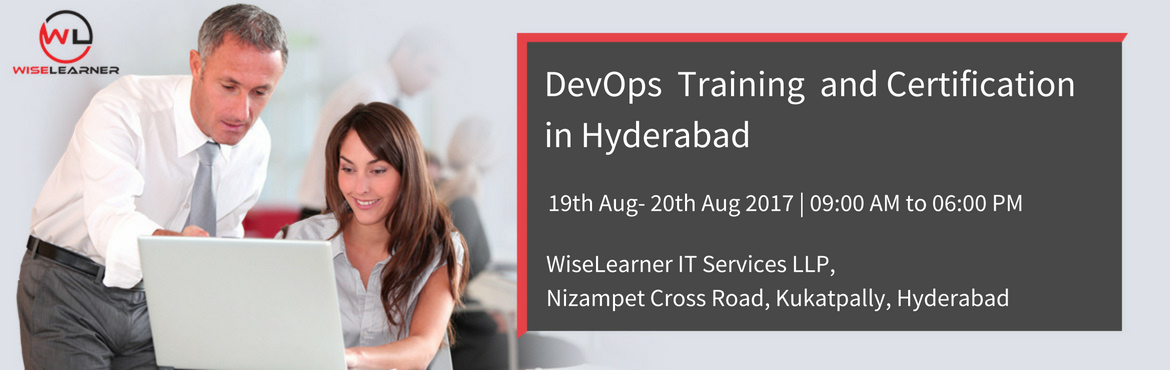 Book Online Tickets for DevOps Master Training and Certification, Hyderabad. DevOps is an emerging set of principles, methods and practices for communication, collaboration and integration between software development (application/software engineering) and IT operations (systems administration/ infrastructure) professionals.