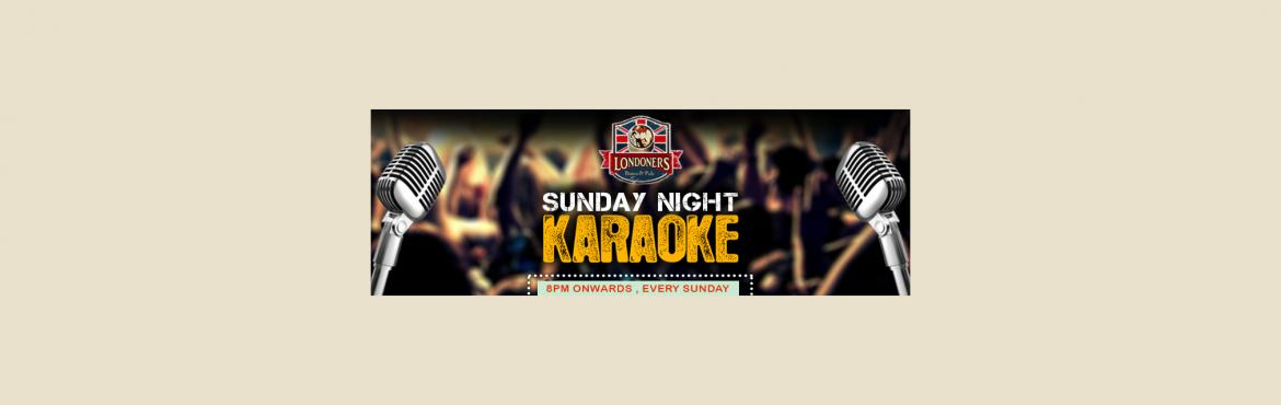 Karaoke Night on 7th May