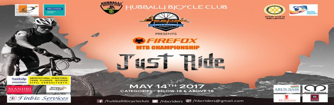 Book Online Tickets for HBC MTB Championship - 2017, Hubballi.  Dear Cycling Enthusiast, We welcome you to most awaited MTB championship of North Karnataka to be held on 14th May,Sunday at B V B College,Vidyanagar. Please complete your registration by paying the nominal fees . You can also visit Deepak Cycles(ko