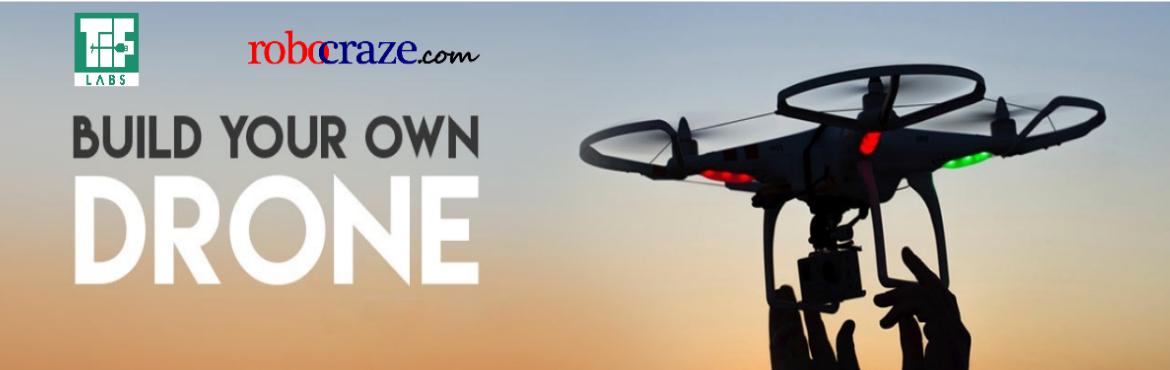 Book Online Tickets for Build your own Drone, Hyderabad.   'Build Your Own Drone' workshop is back with a bang!   A quadcopter is a multirotor helicopter that is lifted and propelled by four rotors. Every team will be given their own drone kit (cost included in ticket price) which the