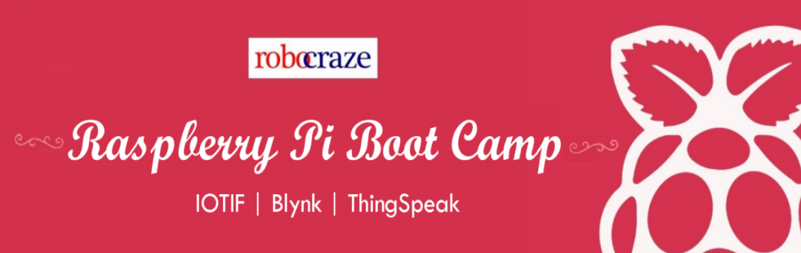 Book Online Tickets for Raspberry Pi Boot Camp, Hyderabad.   Heard about the Raspberry Pi but didn't know how to get started. Always wanted to know what the fuss is about but afraid that things might be too complicated. Now you can get started with building various applications on the Raspberry Pi