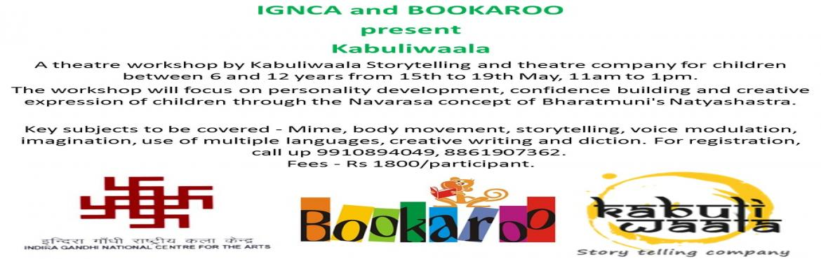 IGNCA and BOOKAROO present Kabuliwaala.