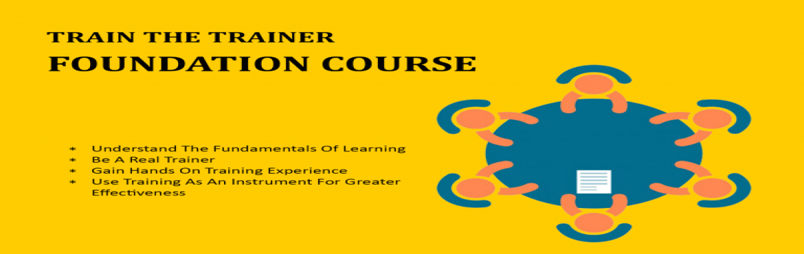 Book Online Tickets for Train The Trainer - Foundation Course, Bengaluru. Bodhih's Training Foundations Workshop is a thorough 2 day experience that will ensure that individuals with or without training experience move into the realm of training. Participants who attend Bodhih's Training Foundations Workshop wi