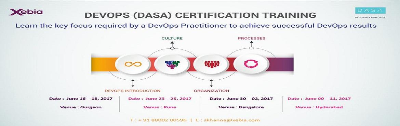DevOps Fundamentals (DASA Certification) Bangalore | 30Jun-02nd July