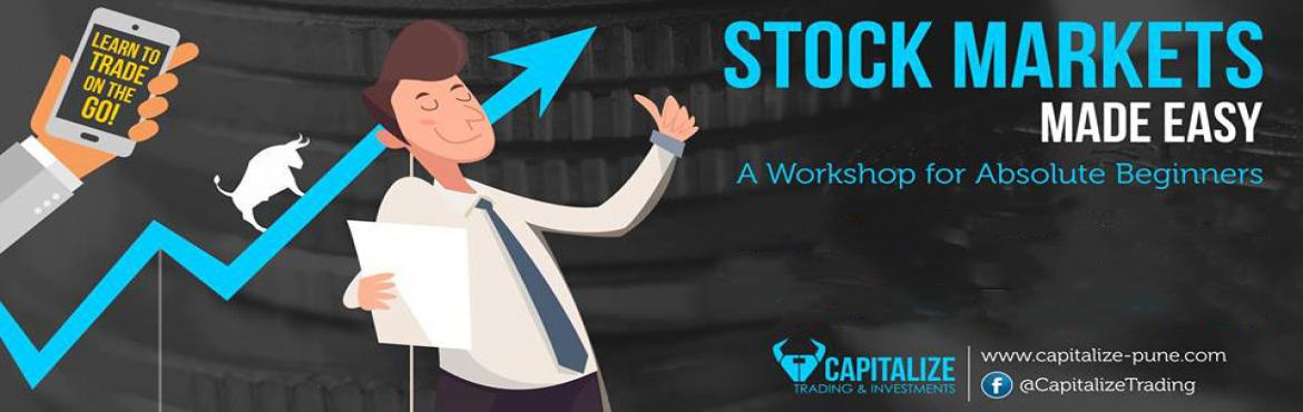 Book Online Tickets for Stock Market Made Easy, Pune. Learn how to invest SAFELY in the stock Markets.  An informative yet fun Sunday workshop on investing In the Stock Markets Ans Questions like : What is a share ? & Stock market ? IPO? What Are Mutual Funds? How much money do ineed to start invest