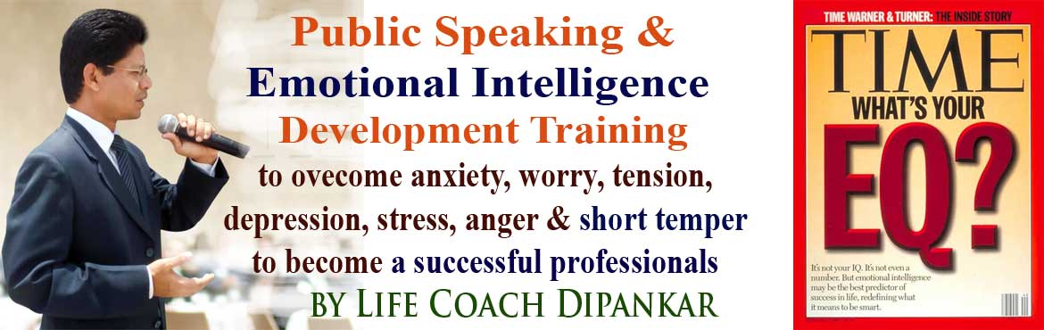 Book Online Tickets for Public Speaking and Emotional Intelligen, Hyderabad. Public Speaking and Emotional Intelligence Training for Professional above 30 to become an an effective communicator, presenter and decision maker. This program is to upgrade your Emotional Intelligence (EQ) to be stress free In t